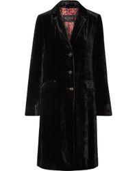 Etro - Velvet Coat - Lyst