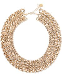 Rosantica - Ingranaggio Gold-tone Pearl Necklace - Lyst