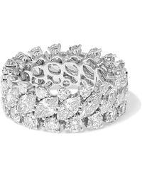 Anita Ko - 18-karat White Gold Diamond Ring - Lyst