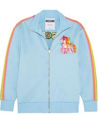 Moschino - + My Little Pony Embroidered Cotton-blend Jersey Sweatshirt - Lyst