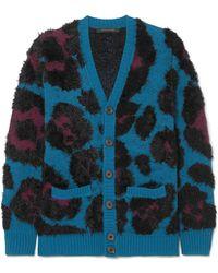 Marc Jacobs - Jacquard-knit Cardigan - Lyst