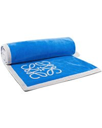 Loewe - Two-tone Cotton-terry Towel - Lyst