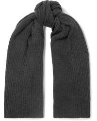 Madeleine Thompson - Dacre Ribbed Cashmere Wrap - Lyst