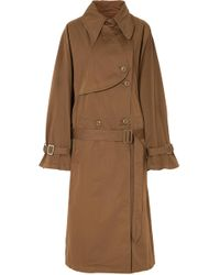 MM6 by Maison Martin Margiela - Long Dyed Trench Coat - Lyst