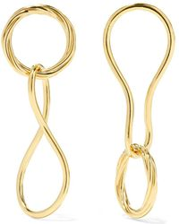 Maria Black - Elna And Alvilda Gold-plated Earrings - Lyst