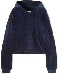 Baserange - Ubera Organic Cotton-velour Hoodie - Lyst