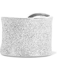 Carolina Bucci - Florentine 18-karat White Gold Ring - Lyst