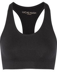 Lucas Hugh - Technical Knit Stretch Sports Bra - Lyst