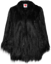 House of Fluff - Yeti Convertible Oversized Faux Fur Coat - Lyst