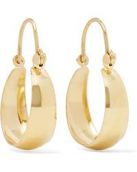 Loren Stewart - Mini Hammock 14-karat Gold Earrings Gold One Size - Lyst