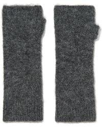 Isabel Marant - Cruz Knitted Fingerless Gloves - Lyst