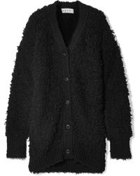 Marni - Oversized Textured Wool-blend Cardigan - Lyst
