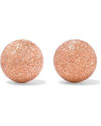 Carolina Bucci - 18-karat Rose Gold Earrings - Lyst