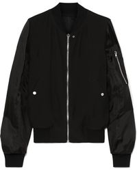 Rick Owens - Cady And Shell Bomber Jacket - Lyst