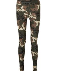 The Upside - Camouflage-print Stretch Leggings - Lyst
