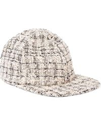 Eugenia Kim - Darien Metallic Tweed Baseball Cap - Lyst