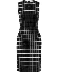 Narciso Rodriguez - Printed Stretch-cotton Dress - Lyst