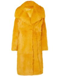 Michael Kors - Shearling Coat - Lyst