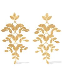 Mallarino - Gabriella Gold Vermeil Earrings - Lyst