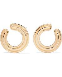 Melissa Kaye - Jen 18-karat Gold Hoop Earrings - Lyst