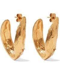 Alighieri - Surreal Gold-plated Earrings - Lyst