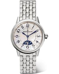 Jaeger-lecoultre - Rendez-vous Night & Day 29mm Stainless Steel, Diamond And Mother-of-pearl Watch - Lyst