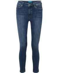M.i.h Jeans - Bridge High-rise Skinny Jeans - Lyst