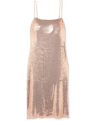 Jason Wu - Sequined Stretch-jersey Dress - Lyst