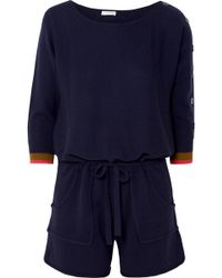 Eres - Visuel Cashmere And Wool-blend Playsuit - Lyst