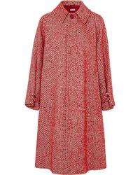 Tomas Maier - Oversized Wool-blend Coat - Lyst