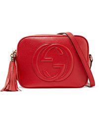 Gucci - Soho Disco Textured-leather Shoulder Bag - Lyst 9373189c43792