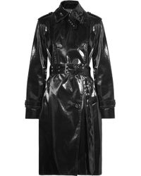 Helmut Lang - Coated-shell Trench Coat - Lyst