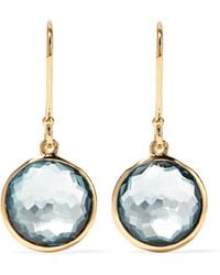 Ippolita - Lollipop 18-karat Gold Topaz Earrings - Lyst