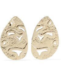 Jennifer Fisher - Lake Gold-plated Earrings - Lyst