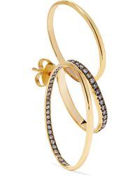 Gaelle Khouri - Doxa 18-karat Gold Diamond Earring - Lyst