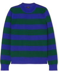 Joseph | Striped Knitted Jumper | Lyst