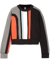 NO KA 'OI - Nohona Nau Panelled Stretch Sweatshirt - Lyst