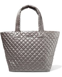 MZ Wallace - Metro Medium Quilted Shell Tote - Lyst