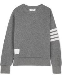 Thom Browne - Striped Knitted Sweater - Lyst