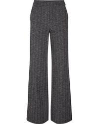 Theory - Talbert Herringbone Wool-blend Straight-leg Trousers - Lyst