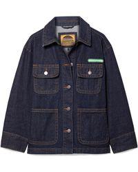 Marc Jacobs | Logo-appliquéd Denim Jacket | Lyst