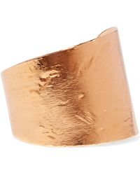 Givenchy - Brushed Gold-tone Cuff - Lyst