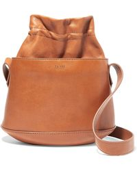Tl-180 - Marcello Textured-leather Bucket Bag - Lyst