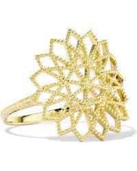 Grace Lee - Lace Deco Vi 14-karat Gold Ring - Lyst