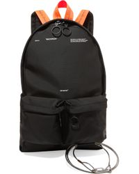 Off-White c/o Virgil Abloh | Printed Canvas Backpack | Lyst