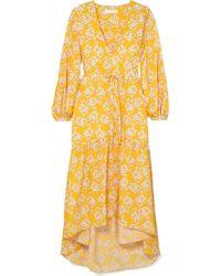 Borgo De Nor - Beatrice Floral-print Crepe Maxi Dress - Lyst