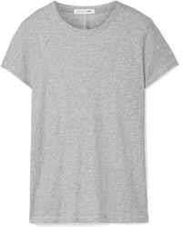 Rag & Bone - The Tee Slub Pima Cotton-jersey T-shirt - Lyst