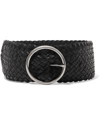 Andersons | Woven Leather Waist Belt | Lyst