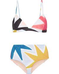 Mara Hoffman - Printed Bikini - Lyst