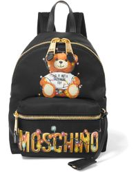 Moschino - Printed Shell Backpack - Lyst
